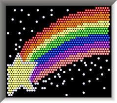 Sweet image throughout printable lite brite patterns