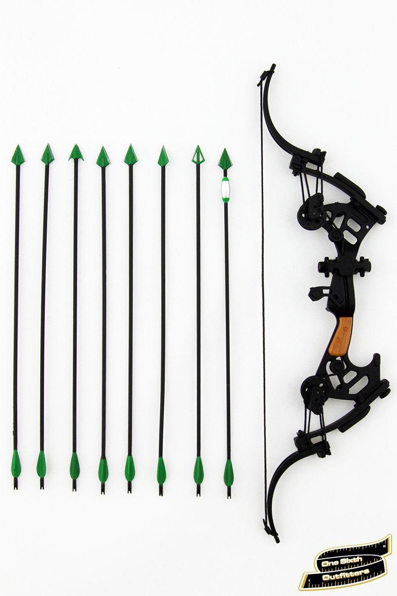 1/6 Scale Green Arrow Compound Bow | DC Superheros | Pinterest ...