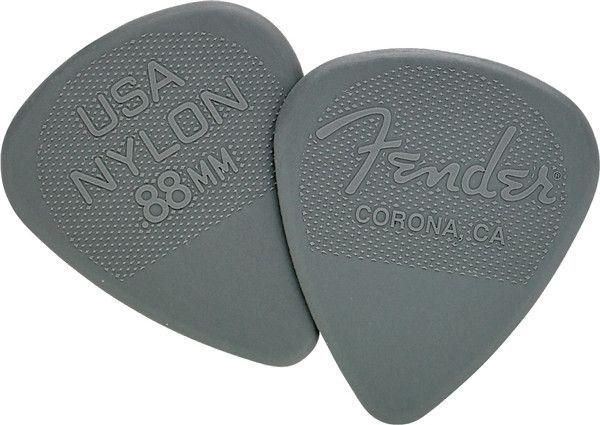 Fender .88mm Nylon Picks 12-pack 0986351850