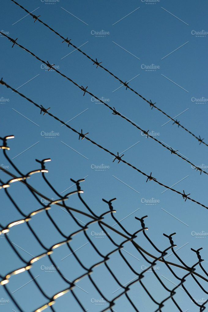 Barbed Wire Fence   Barbed wire fencing and Wire fence