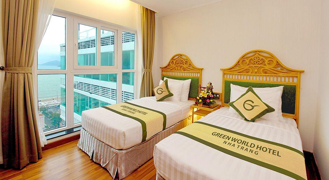 Khach Sạn Green World Senior Deluxe Room Green World Hotel Nha