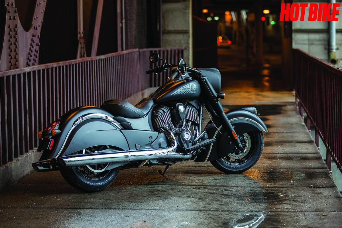Meet indian motorcycles first model of 2016 indian chief dark - Indian Motorcycle Presents The Indian Chief Dark Horse Hot Bike