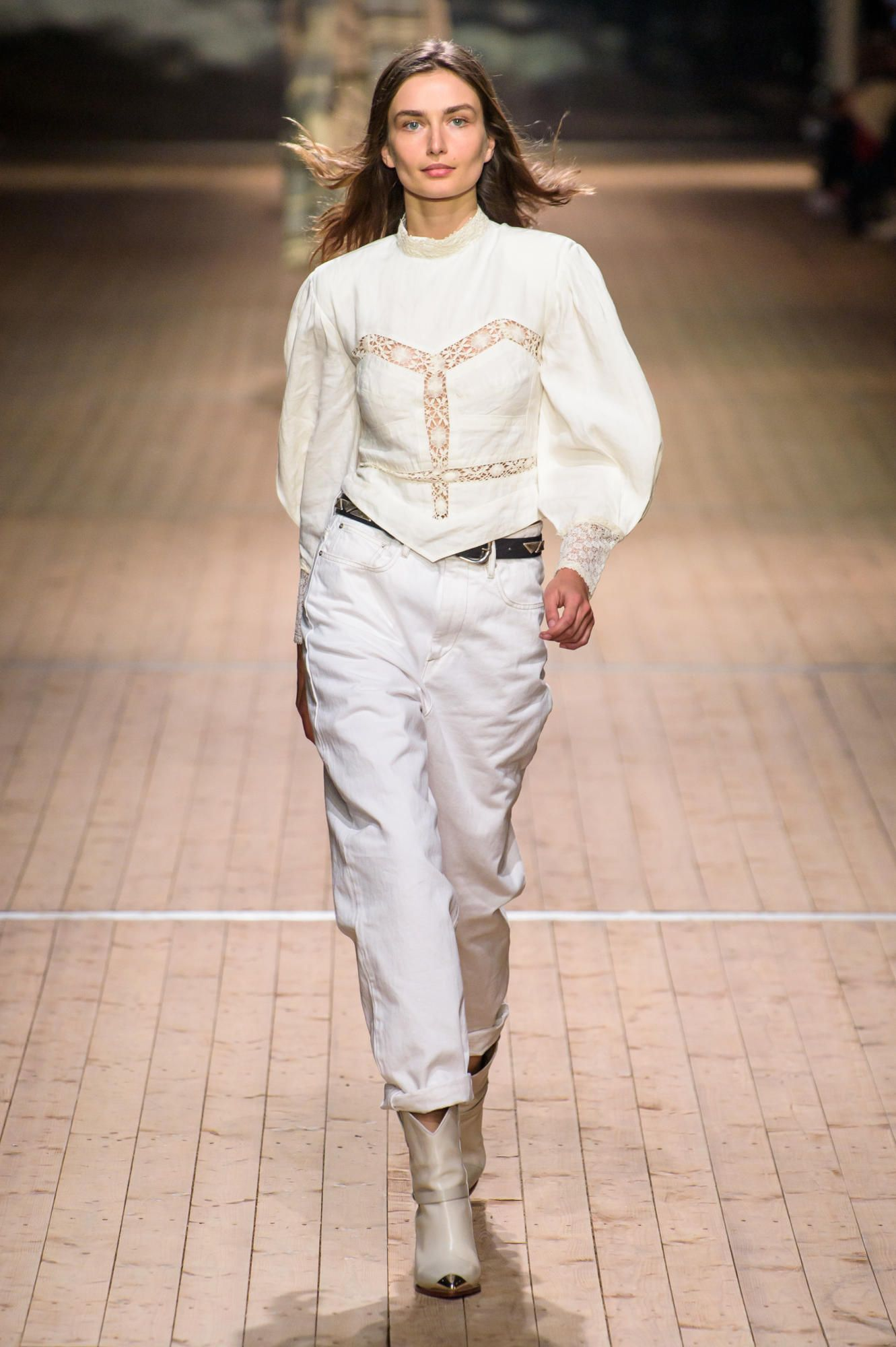 Isabel Marant Takes The French Girl Out West For Fall 2018