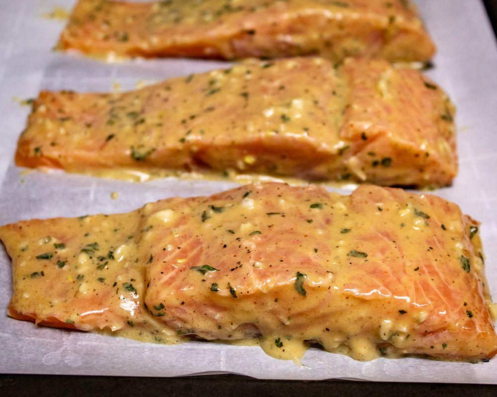 Photo of Dijon Lemon Salmon — More Than You Can Chew