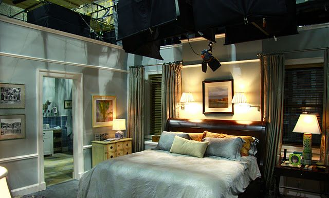 set from The Good Wife
