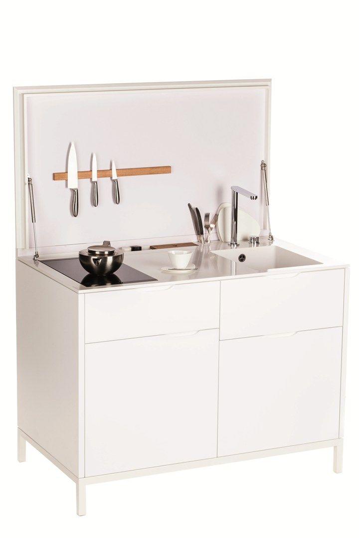 Maminicuisine. Compatta, funzionale, minimal La micro cucina in HI ...