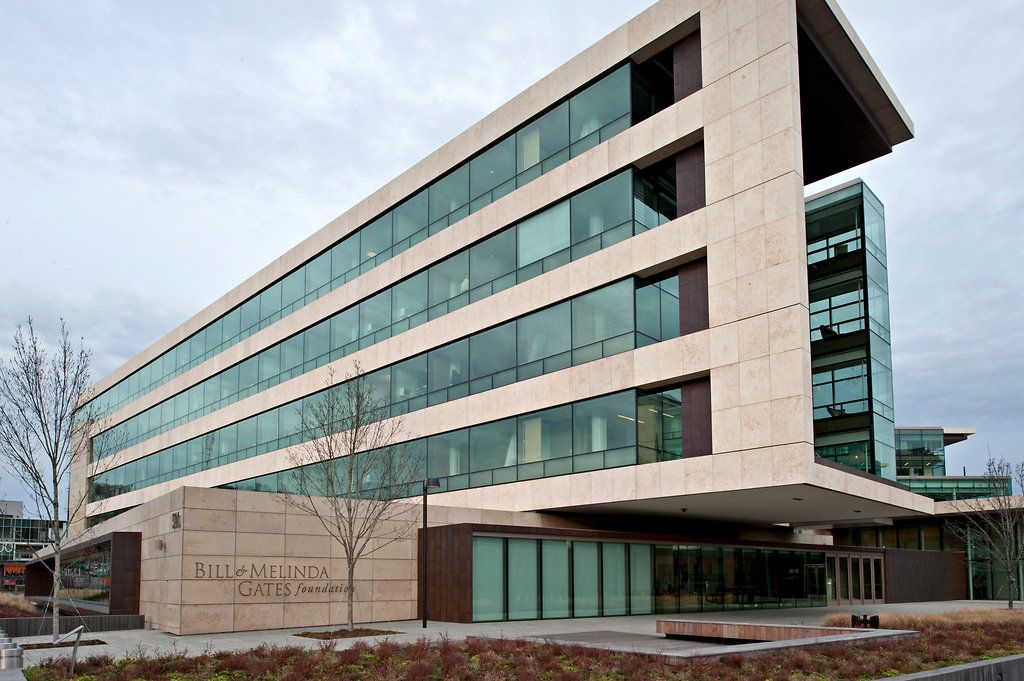 The Bill & Melinda Gates Foundation headquarters in