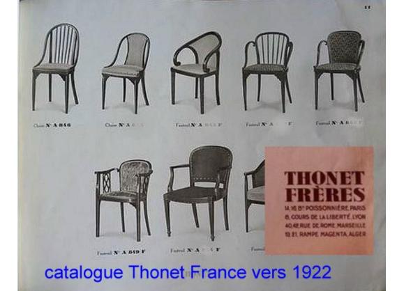 Chaise Thonet N A846 De 1920 Art Deco Barreaux Fuseau Art Deco Chaises Thonet Design Art Deco