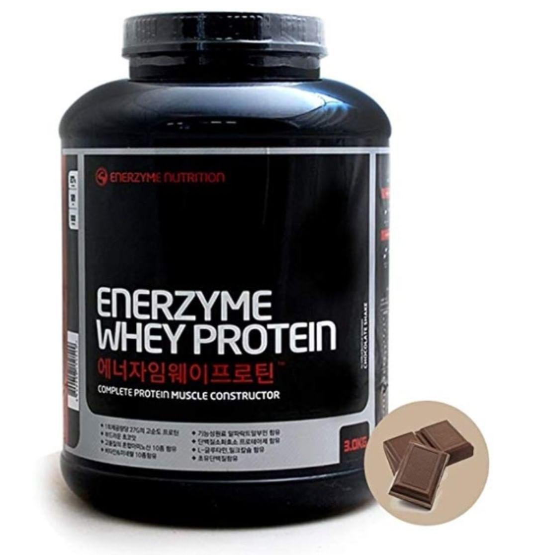 Enerzyme Whey Protein Powder Chocolate 6 6 Lbs High Purity