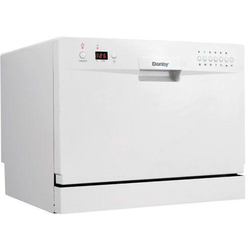 Danby Ddw611wled Countertop Dishwasher White 2016 Amazon Most