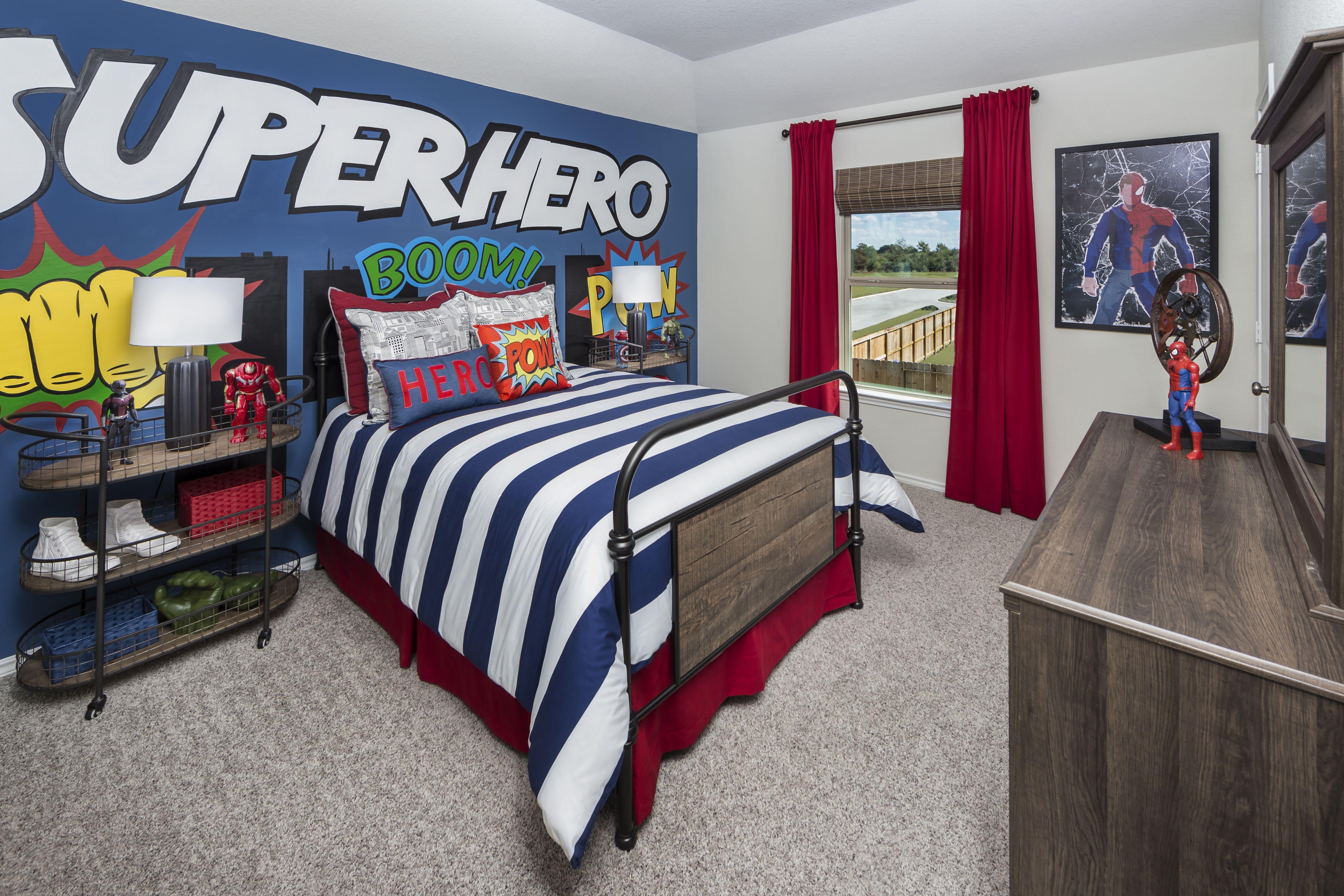 Comic Themed Kid Bedroom Ideas Home Design Programs Home Decor