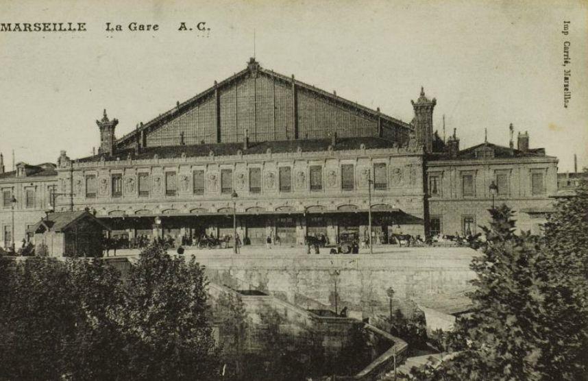 Plongez dans l histoire de la gare saint charles et d couvrez son avenir made in marseille - Distance gare saint charles port marseille ...