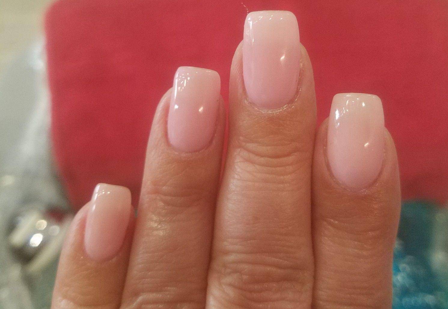 Dnd Dc 059 Sheer Pink Pink Gel Nails Pink Manicure Sheer Nails