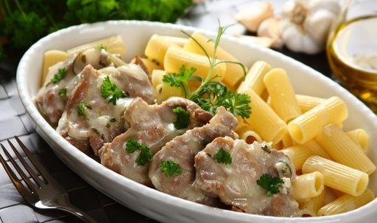 Friptură de porc cu sos de ierburi aromate - Retetaperfecta.ro