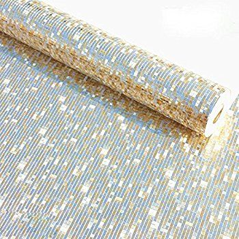 Peel Stick Flame Retardant Backsplash Shine Ebony White Silver Pearl Contact Paper Self Adhesive Wallpaper Modern Wallpaper Wallpaper Decor Wallpaper Shelves