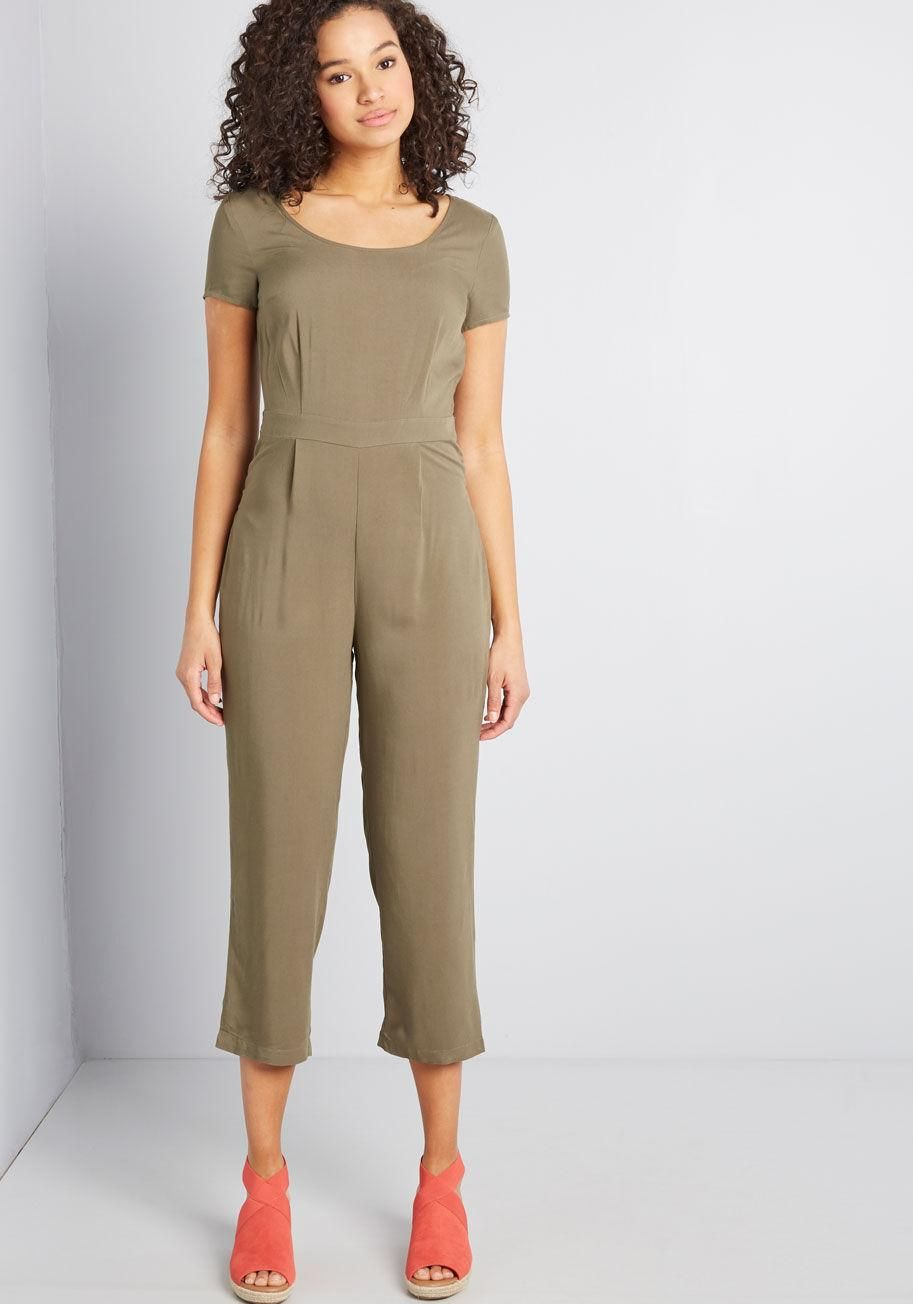3809b89b299b Bay Area Believer Cropped Jumpsuit It's hard not to be in a 'golden state of