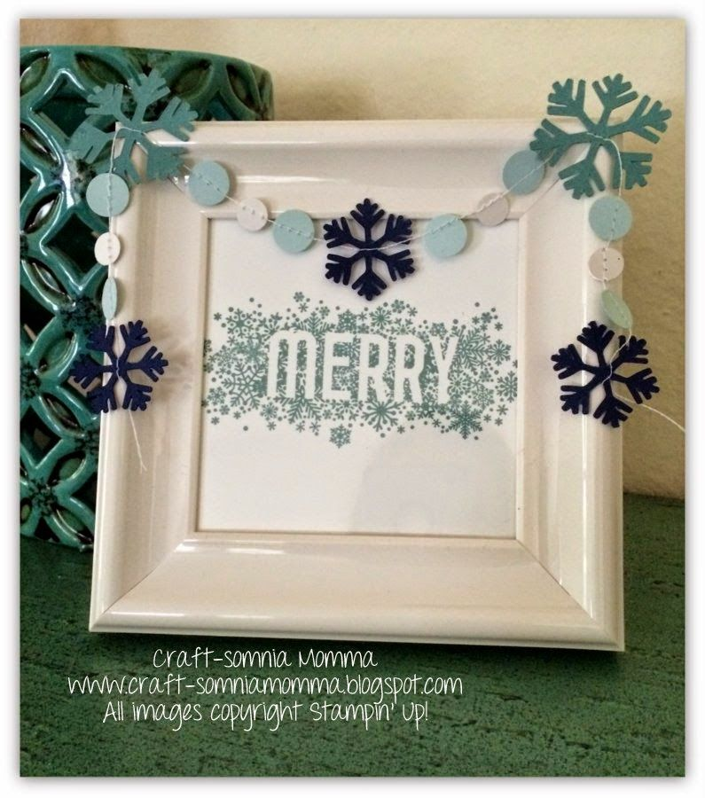 Tuesday, July 22, 2014 Craft-somnia Momma: Seasonally Scattered Decor  Stampin' Up!