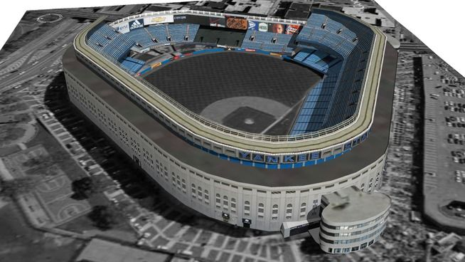 Yankees Stadium Is A 1 3 Million Square Foot Major League Baseball Stadium For The New York Yank Major League Baseball Stadiums Yankee Stadium Baseball Stadium