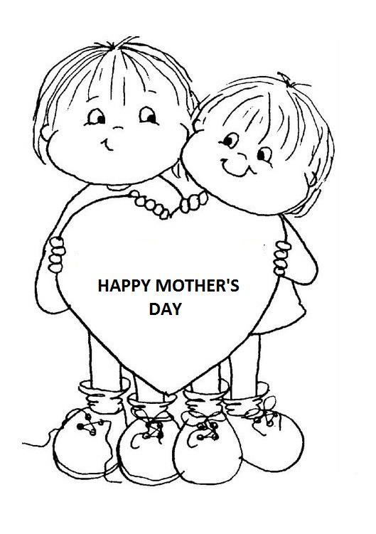 mother 39 s day coloring page 5 Happy Mother 39 s Day