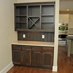 Built In Dry Bar Thomas Custom Cabinets