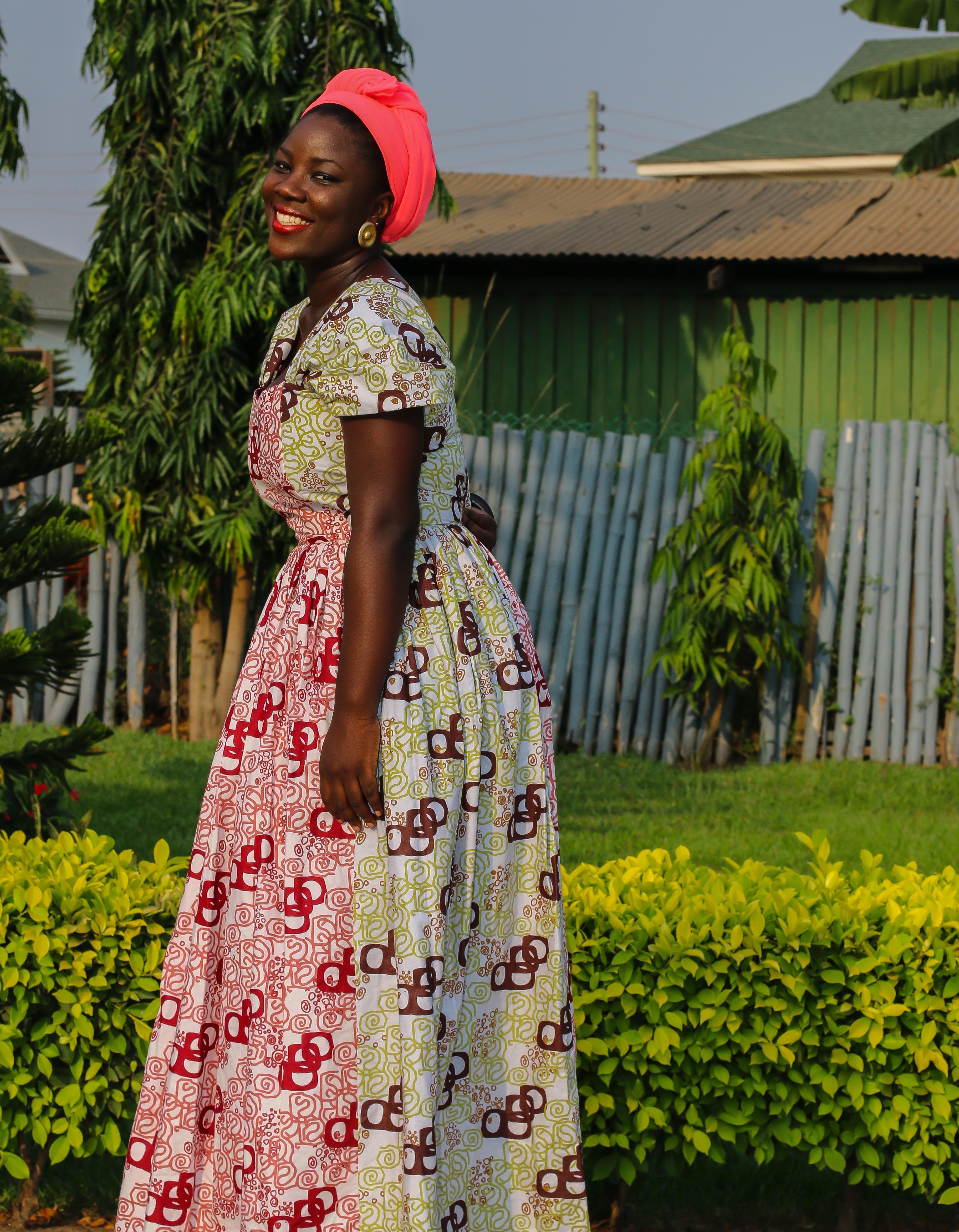 New African prints from Printex Ghana Ltd Model: Franca