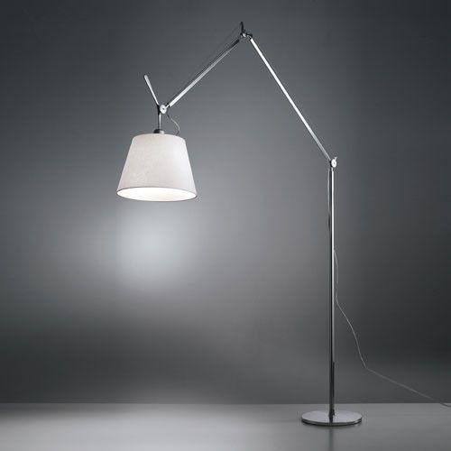 A Look At Artemide S Tolomeo Lamp Floor Lamp Led Floor Lamp