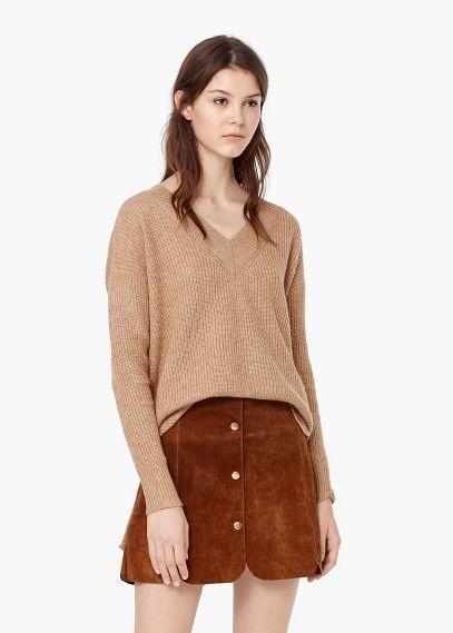 Jersey alpaca lana | MANGO