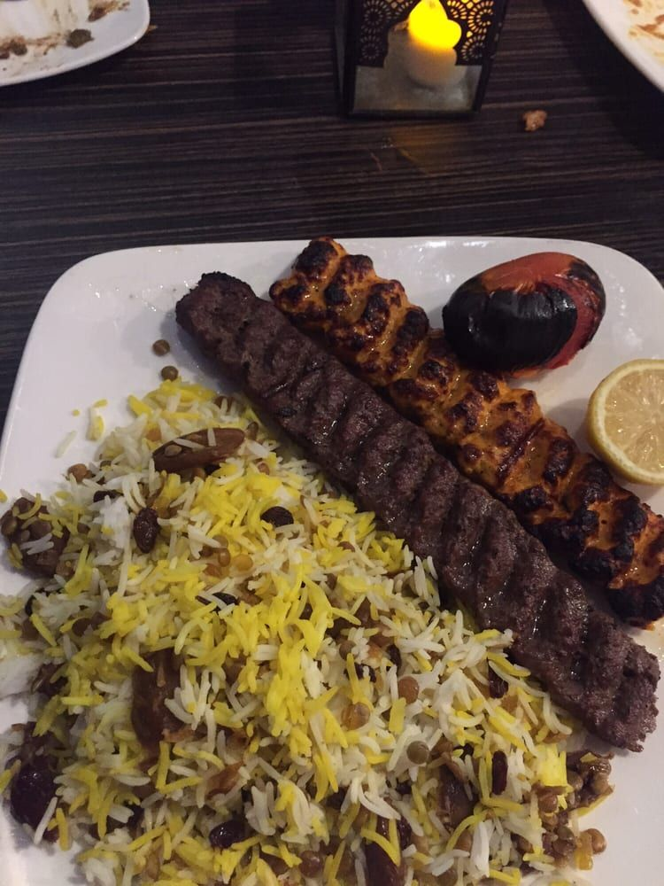 Great Food Taste Of Persia Only At Sufi Mediterranean