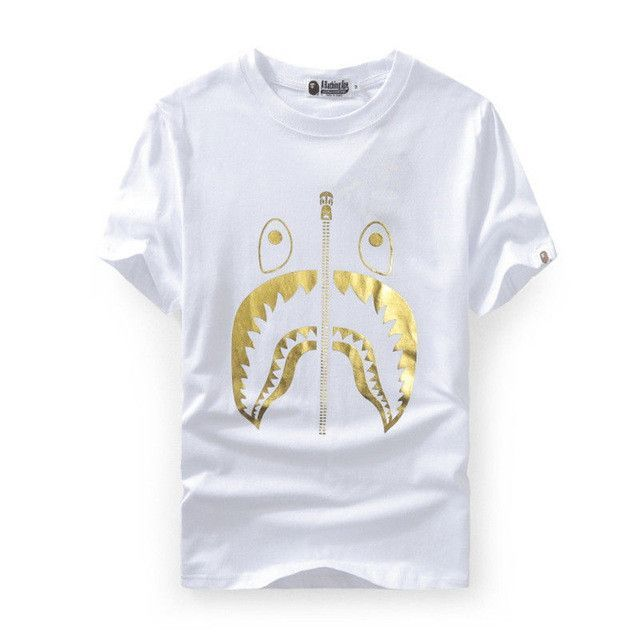dbd97e056 Men's Bape Shark T-Shirt | Products | Bape shark t shirt, Bape ...