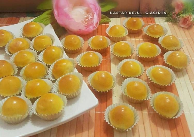 Resep Nastar Keju Pr Kue Kering Oleh Giacinta Permana Resep Nastar Kue Kering Makanan Ringan Manis