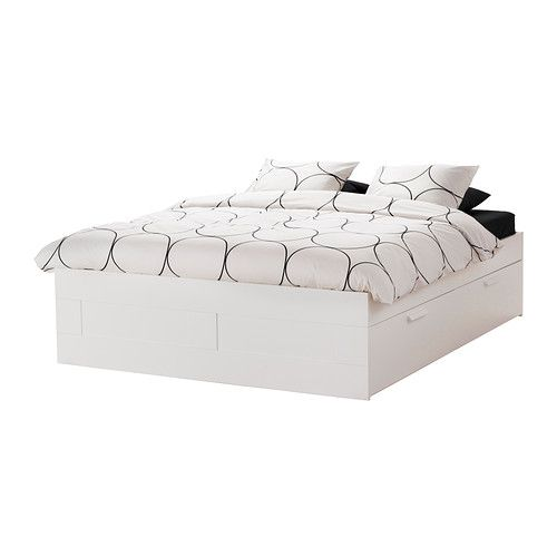 brimnes bed frame with storage ikea the four drawers in the bed frame provide a lot