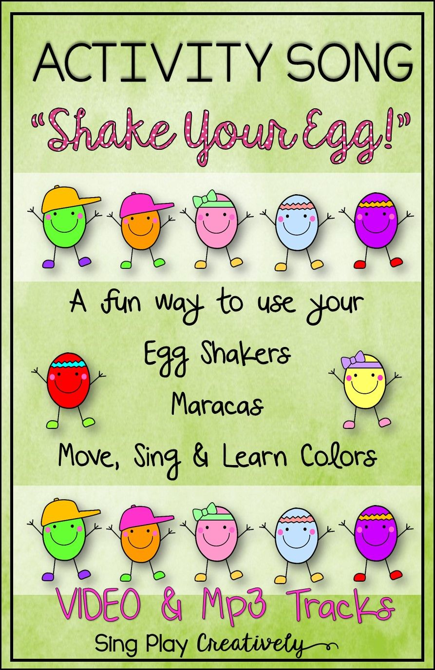 Egg shaker songs: I know a chicken, pig on my head | Interventions ...