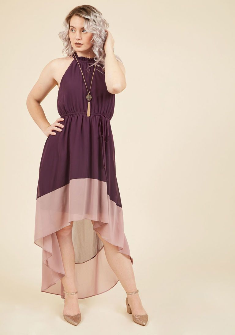 Befitting of fame maxi dress in aubergine maxi dresses and fashion
