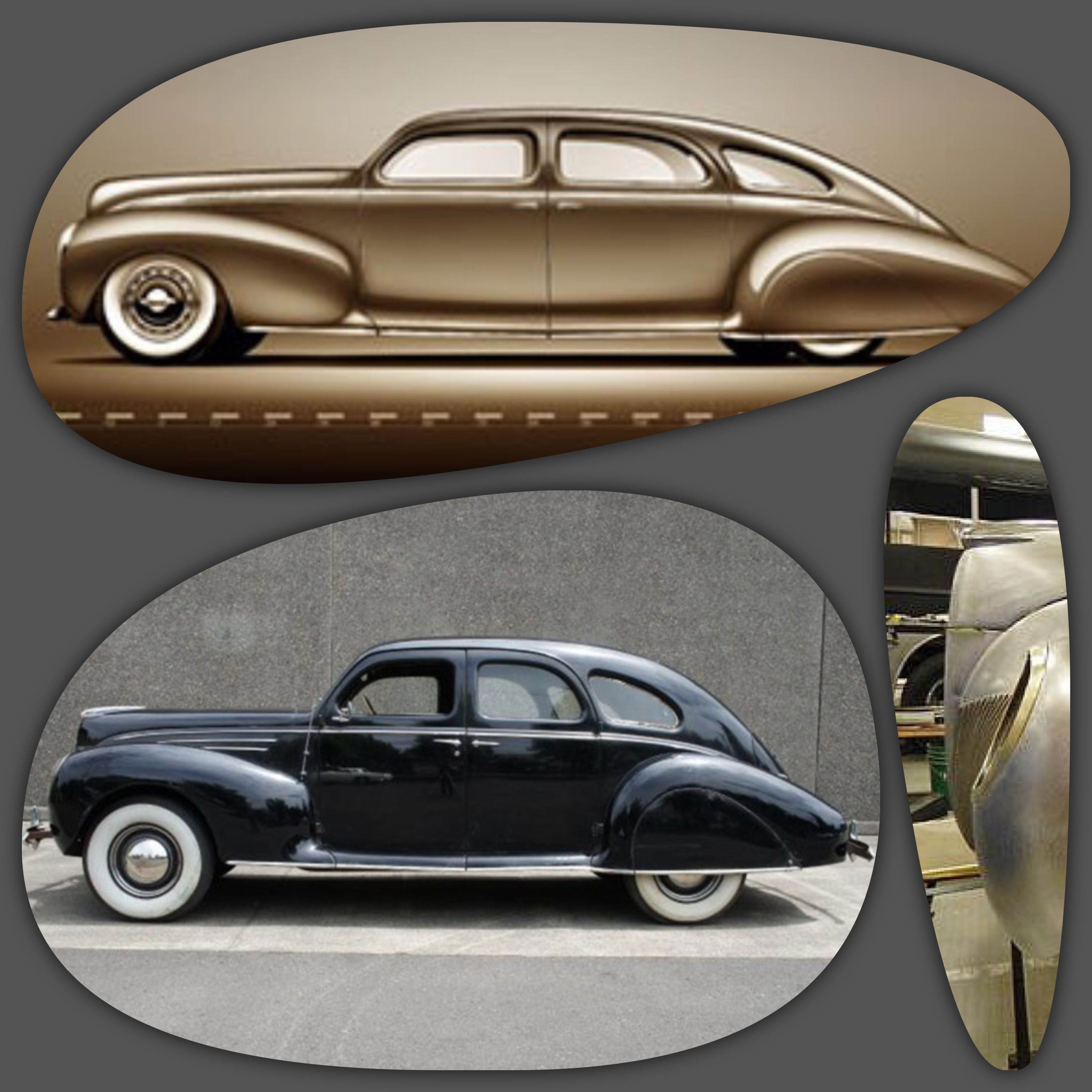 Stretched and chopped all-electric \'39 Zephyr custom in the build ...