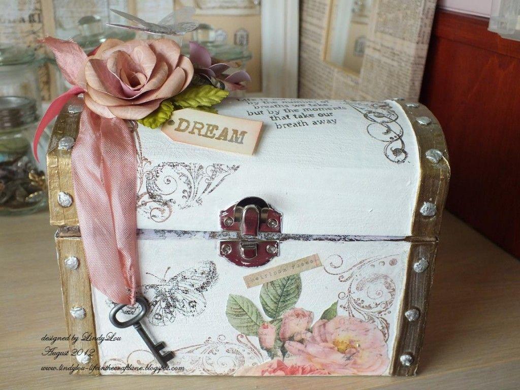 How To Decorate A Treasure Box Treasure Box  My Indigo Blu Designs  Pinterest  Decorating