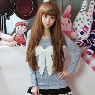 Bow Knit Top from #YesStyle <3 GOGO Girl YesStyle.com