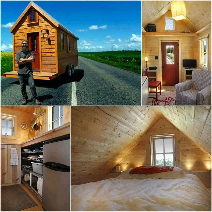 Mini cabin, what more do you need?!