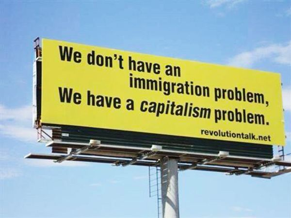 We don't have a ____________ problem. We have a #capitalism problem.