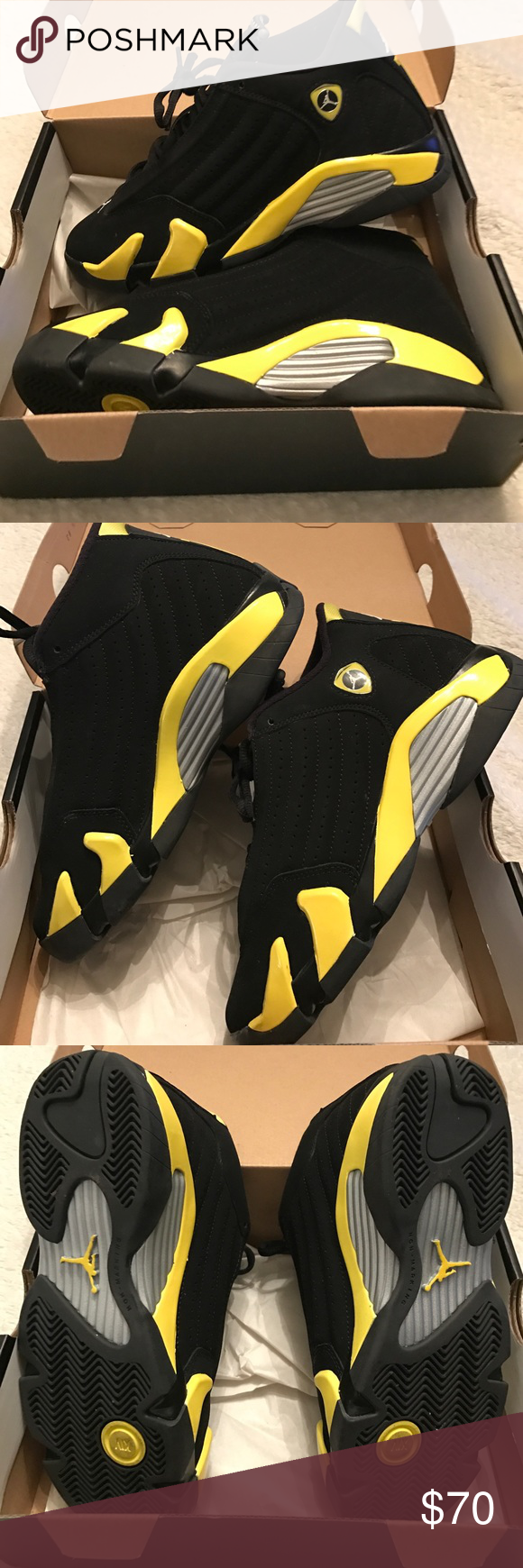 bf5a99545108 Air Jordan 14 Retro Air Jordan 14 Retro BG size....Only worn once great  condition pretty much like new....these run small