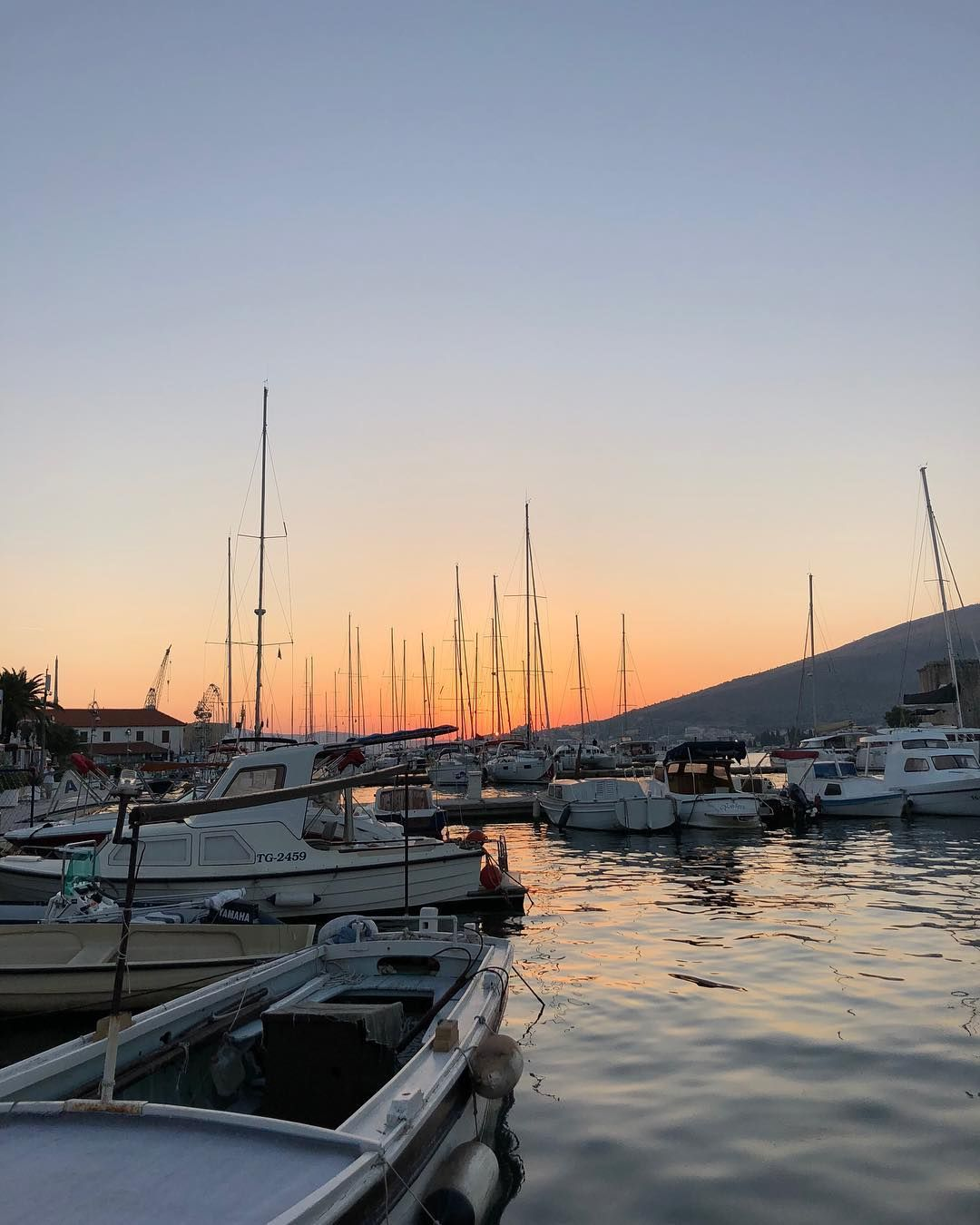 Traveling to Trogir Croatia? Check out my ultimate Trogir Travel Guide: Information on things to see and do, accommodation, transportation, food and wine. #trogir #trogircroatia #sunset #adriaticsea #colorfulsunset #sunset_pic #sunsets #sunset_vision #sunset_stream #sea #croatia #visittrogir #croatiaislands