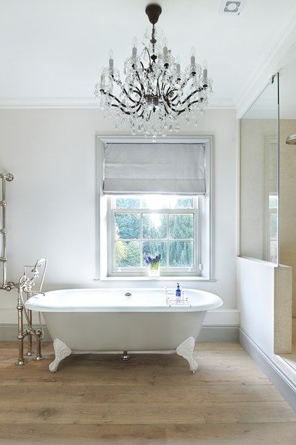 Free-Standing Tub from Drummonds | Large shower, Shower bathroom and ...