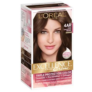 Excellence Sup Creme 4ar Dark Chocolate Brown Permanent Hair Colorbrown