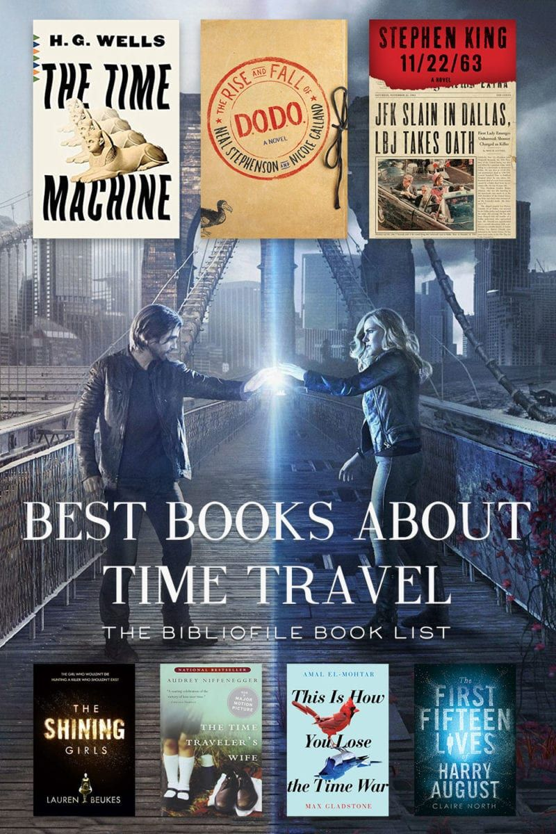 50 Best Time Travel Books Time travel books, Science