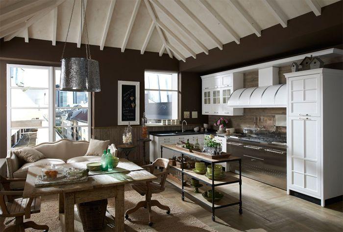Винтажные кухни от Marchi Cucine | Interiors