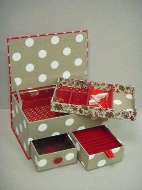 Ideas To Decorate A Box Cartonagem  Meus Interesses  Pinterest