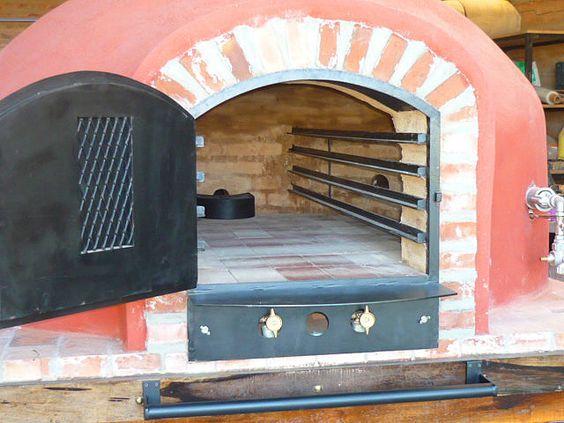 Hornos de barro a le a y a gas tatacu modelo de adobe - Modelos de hornos de lena ...