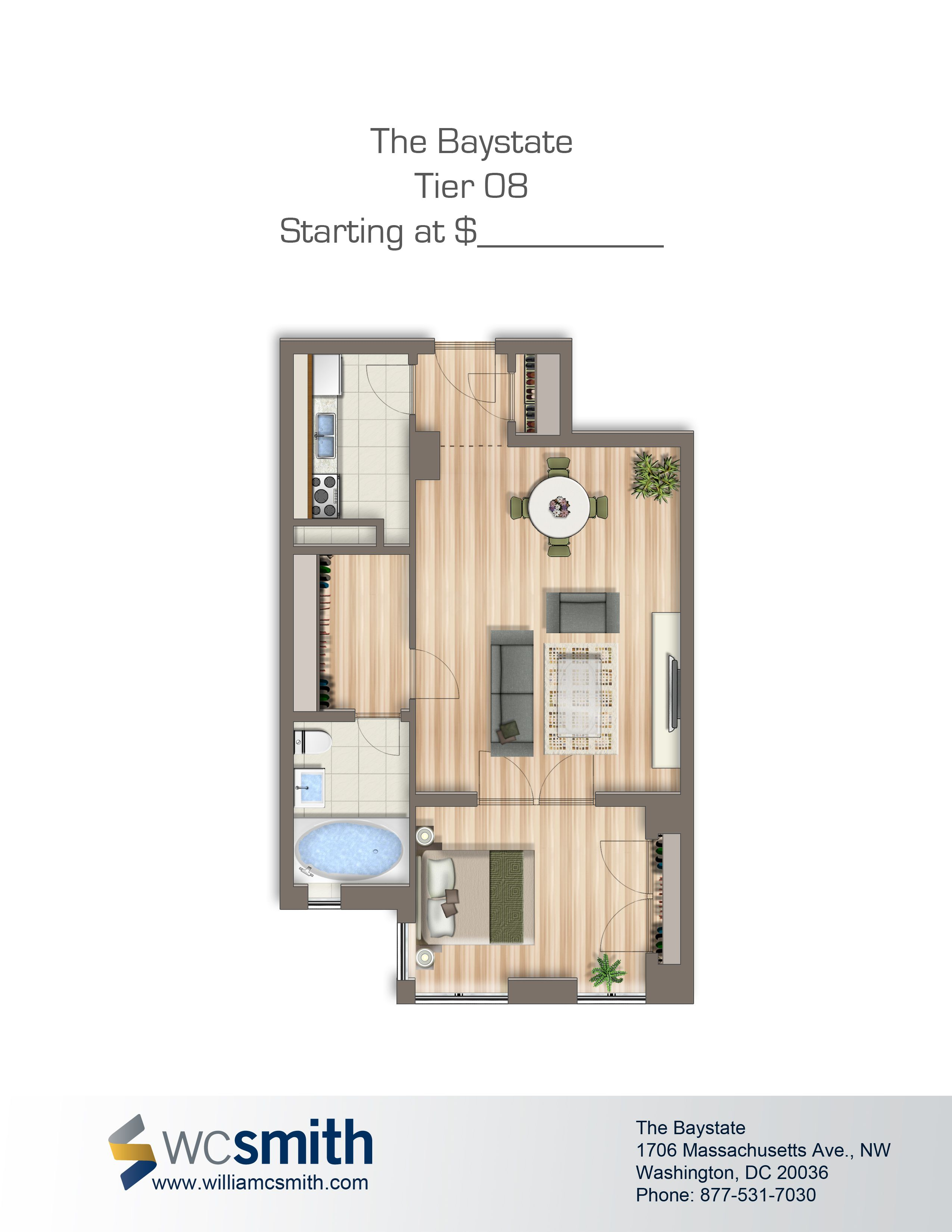 2 Bedroom Apartments For Rent In Dc Alluring Baystate Apartments  Washington Dc Apartments And Bedrooms Design Inspiration