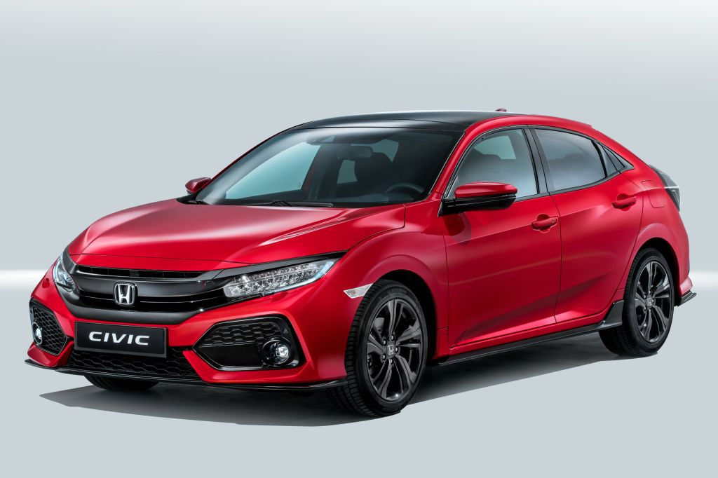 Honda Civic Sport Hatchback Fk7 2017 Honda Civic Hatchback Civic Hatchback Honda Civic Hybrid