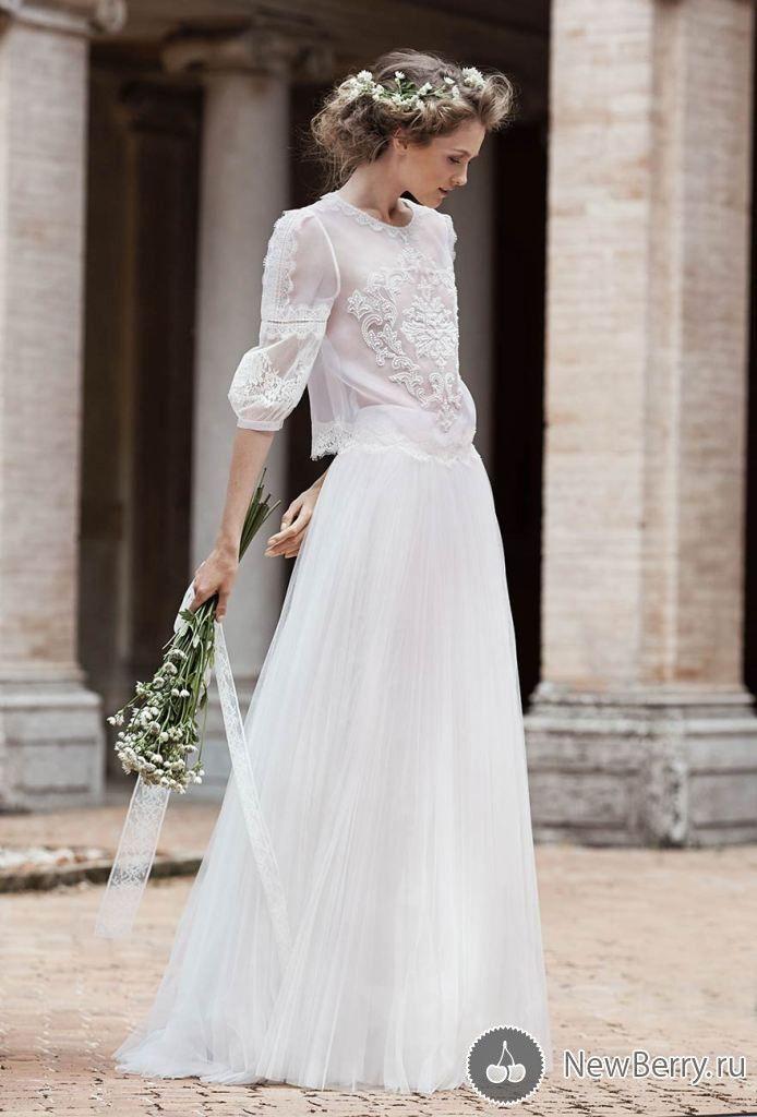 платьев фото свадебных современных