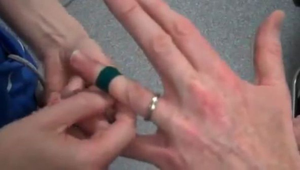 When was the last time you took off your wedding ring For some of